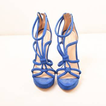 Foto Carousel Producto: Sandalias azules  GoTrendier