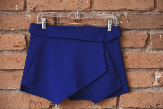 Foto Carousel Producto: Skort azul brillante GoTrendier