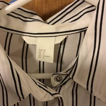 Foto Carousel Producto: Blusa rayas H&M GoTrendier