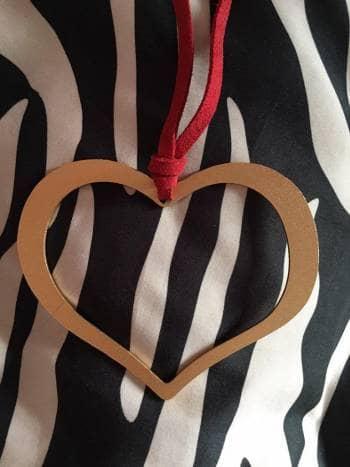 Foto Carousel Producto: Collar en forma de corazon GoTrendier