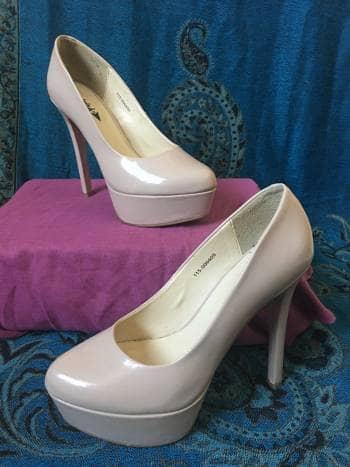 Foto Carousel Producto: Zapato nude tacon GoTrendier