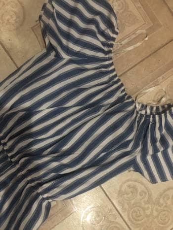 Foto Carousel Producto: Stripped romper GoTrendier
