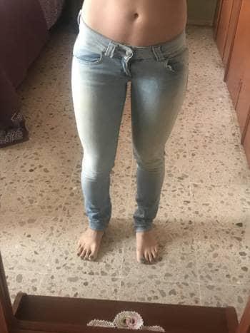 Foto Carousel Producto: Jeans deslavados claros GoTrendier