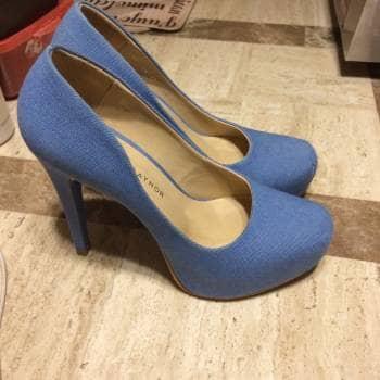 Foto Carousel Producto: Tacones azul cielo GoTrendier