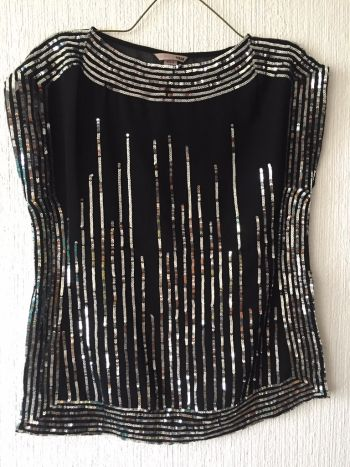 Foto Carousel Producto: Blusa de fiesta con lentejuela GoTrendier