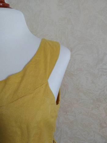 Foto Carousel Producto: Vestido amarillo lino (L) GoTrendier