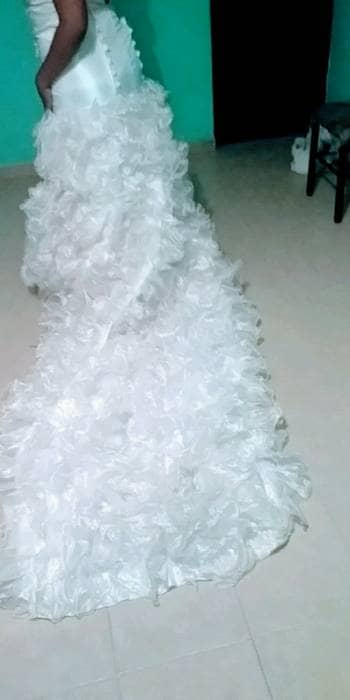 Foto Carousel Producto: Vestido de novia Corte Sirena Talla 38 a 40  GoTrendier