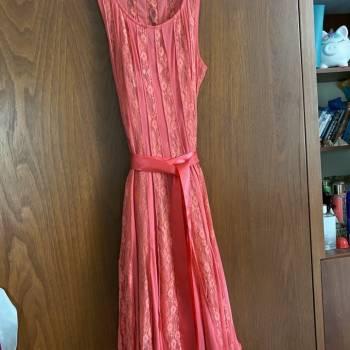 Foto Carousel Producto: Vestido rosa coral GoTrendier