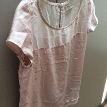 Foto Carousel Producto: Blusa rosa palido con transparencia GoTrendier