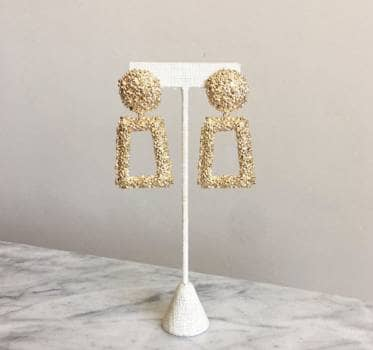 Foto Carousel Producto: Aretes dorados para fiesta GoTrendier