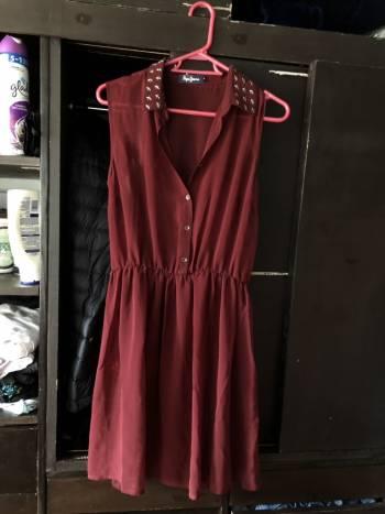 Foto Carousel Producto: Vestido vino GoTrendier