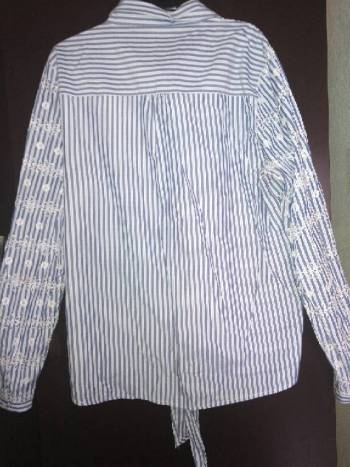Foto Carousel Producto: Blusa con mangas bordadas GoTrendier