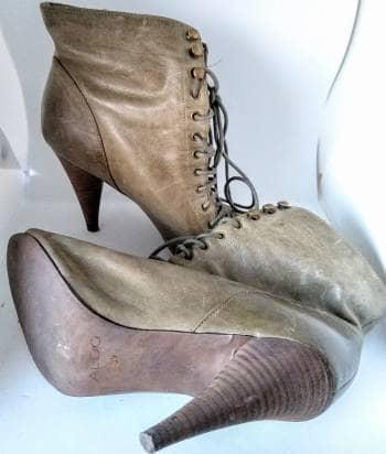 Foto Carousel Producto: Botin de piel corte peep toes GoTrendier