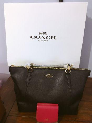 Foto Carousel Producto: Bolsa de piel Coach original GoTrendier