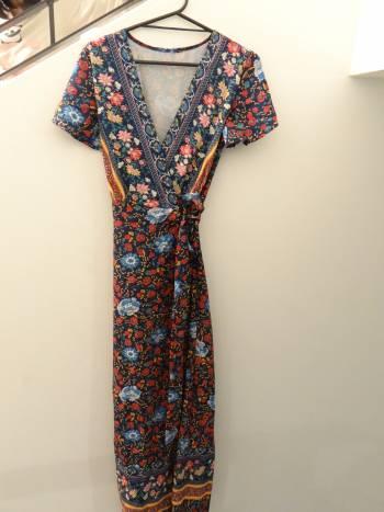 Foto Carousel Producto: Vestido floreado de Shein GoTrendier