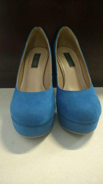 Foto Carousel Producto: Zapatos de tacón de gamuza  GoTrendier