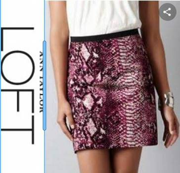 Foto Carousel Producto: Minifalda nueva Ann Taylor Talla XS GoTrendier