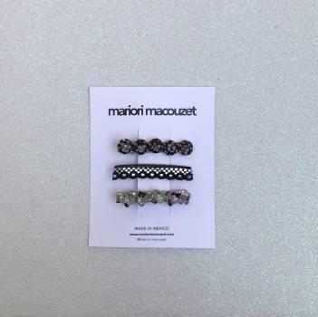 Foto Carousel Producto: Set de broches para el cabello GoTrendier