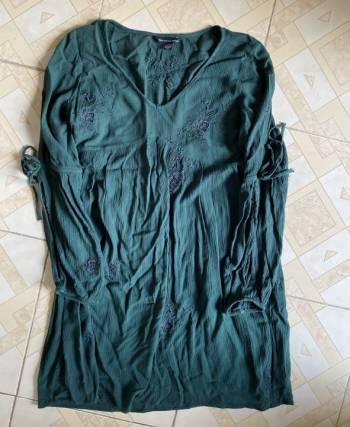Foto Carousel Producto: Vestido verde American Eagle GoTrendier