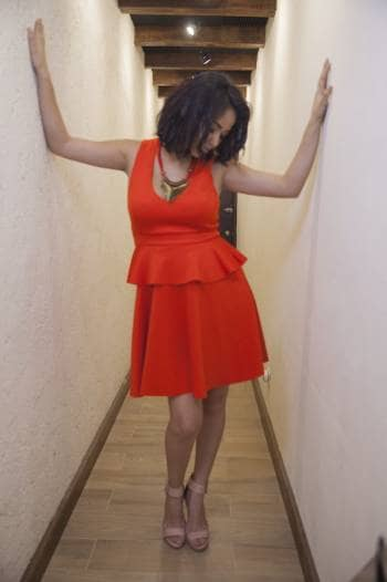 Foto Carousel Producto: Red dress GoTrendier
