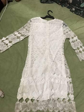 Foto Carousel Producto: Vestido de playa blanco GoTrendier