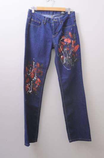 Foto Carousel Producto: Jeans con pintura GoTrendier