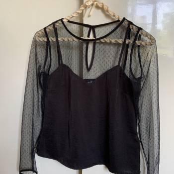 Foto Carousel Producto: Hermosa blusa con transparencia ✨ GoTrendier