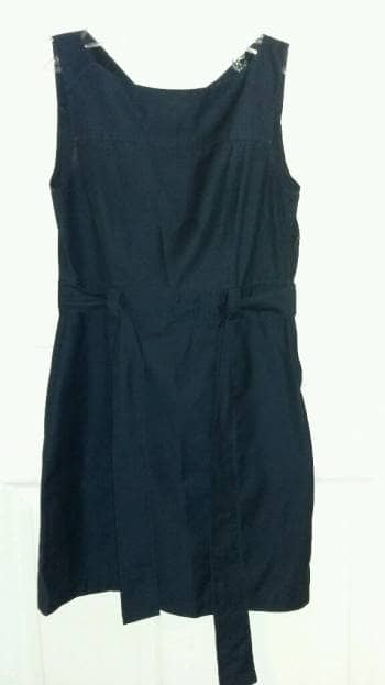 Foto Carousel Producto: Vestido corto color azul marino. GoTrendier