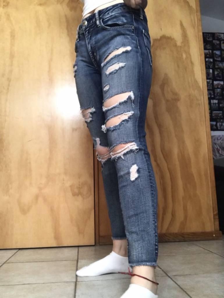 Jeans rotos de American Eagle Outfitters de segunda mano ...