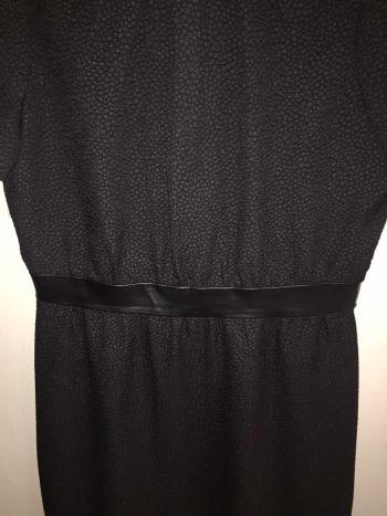 Foto Carousel Producto: Vestido con detalle en piel GoTrendier