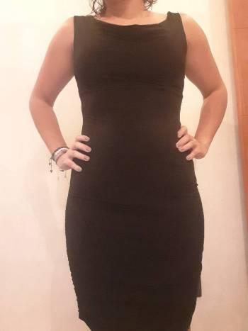 Foto Carousel Producto: Vestido Negro Lycra S GoTrendier
