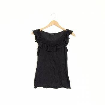 Foto Carousel Producto: Blusa negra casual GoTrendier