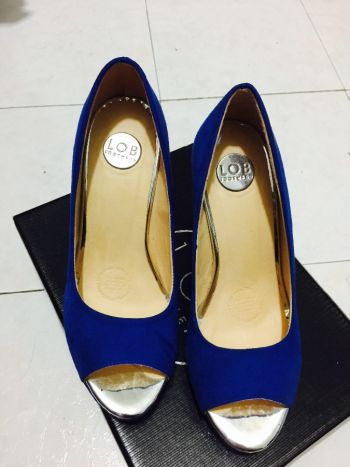 Foto Carousel Producto: Zapatillas azul electrico GoTrendier