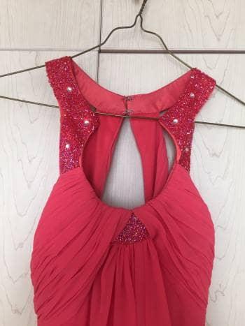 Foto Carousel Producto: Vestido largo color coral talla S GoTrendier