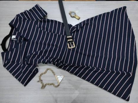 Foto Carousel Producto: Vestido Azul de H&M GoTrendier