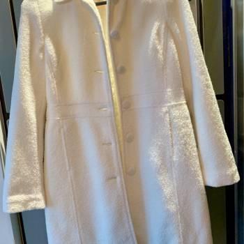 Foto Carousel Producto: Abrigo blanco borrego GoTrendier