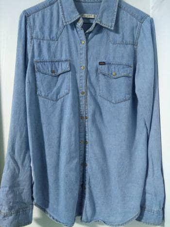 Foto Carousel Producto: Camisa de mezclilla GoTrendier