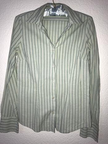 Foto Carousel Producto: Camisa rayada color aqua al 2x1 GoTrendier