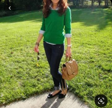Foto Carousel Producto: Suéter verde GoTrendier