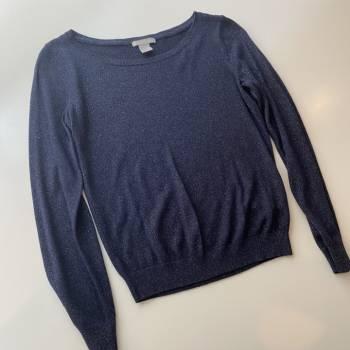 Foto Carousel Producto: 2x$250 Sweater Azul con brillo dorado GoTrendier