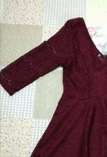 Foto Carousel Producto: Vestido Tinto (Tipo Princesa) GoTrendier