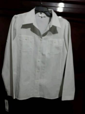 Foto Carousel Producto: Camisa blanca. GoTrendier
