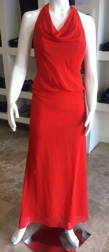 Foto Carousel Producto: Vestido largo rojo GoTrendier