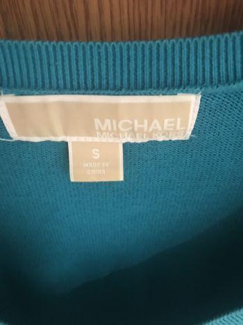 Foto Carousel Producto: Sweater michael kors kelly aqua GoTrendier