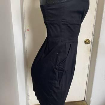 Foto Carousel Producto: Vestido strapples bershka GoTrendier