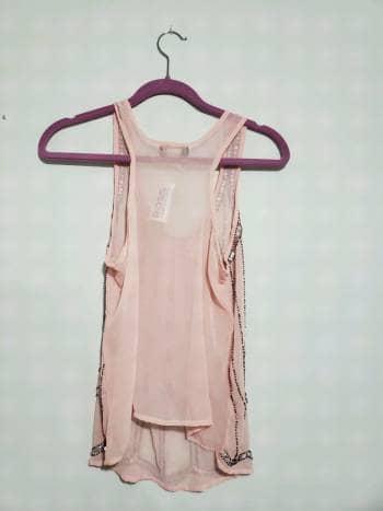 Foto Carousel Producto: Blusa rosa con piedritas GoTrendier