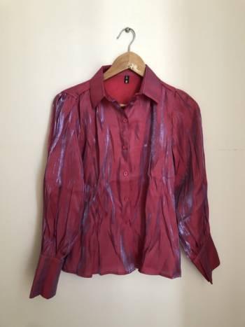 Foto Carousel Producto: Camisa rosa tornasol GoTrendier