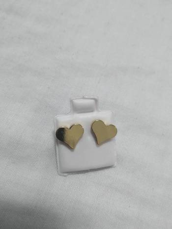 Foto Carousel Producto: Aretes  de corazon  GoTrendier