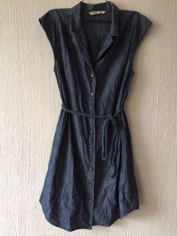 Foto Carousel Producto: Vestido de mezclila con cinturoncillo GoTrendier