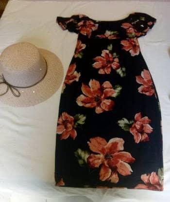 Foto Carousel Producto: Vestido Nuevo floreado talla M GoTrendier